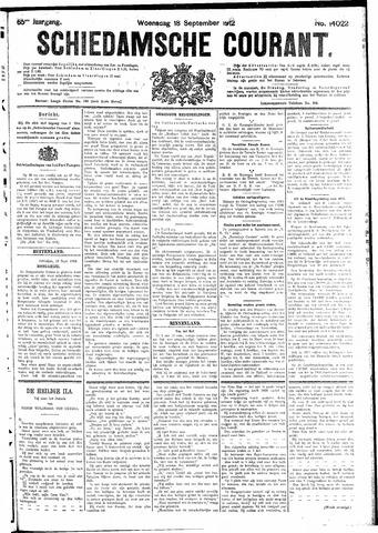 Schiedamsche Courant 1912-09-18
