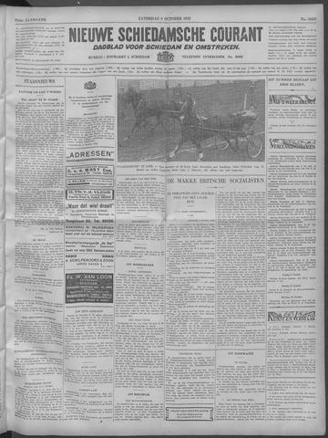 Nieuwe Schiedamsche Courant 1932-10-08