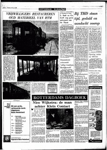 Rotterdamsch Parool / De Schiedammer 1968-02-06