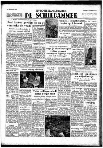 Rotterdamsch Parool / De Schiedammer 1949-11-15