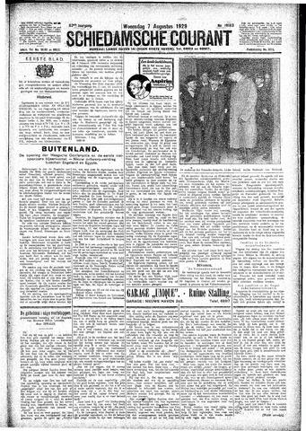 Schiedamsche Courant 1929-08-07