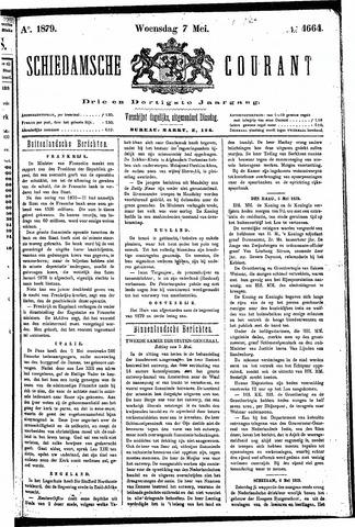 Schiedamsche Courant 1879-05-07