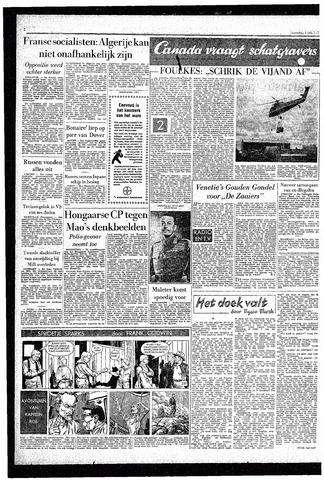 Rotterdamsch Parool / De Schiedammer 1957-07-01
