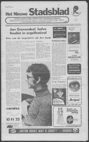 Het Nieuwe Stadsblad 1972-05-19