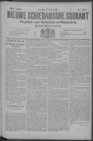 Nieuwe Schiedamsche Courant 1897-05-09