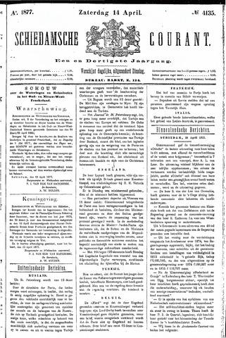 Schiedamsche Courant 1877-04-14