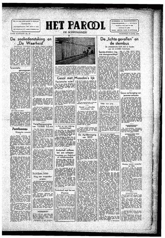 Rotterdamsch Parool / De Schiedammer 1946-04-24
