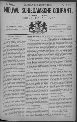 Nieuwe Schiedamsche Courant 1886-08-14