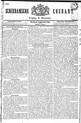 Schiedamsche Courant 1847-12-03