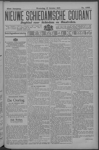 Nieuwe Schiedamsche Courant 1917-10-17