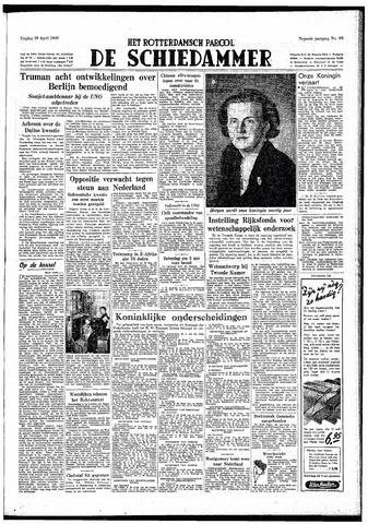 Rotterdamsch Parool / De Schiedammer 1949-04-29