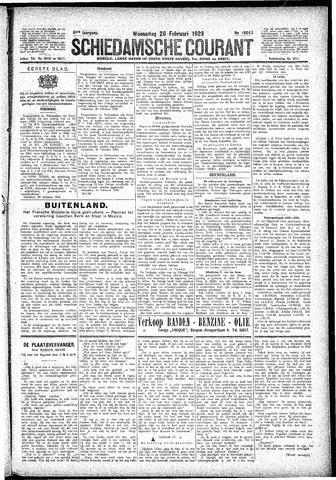 Schiedamsche Courant 1929-02-20