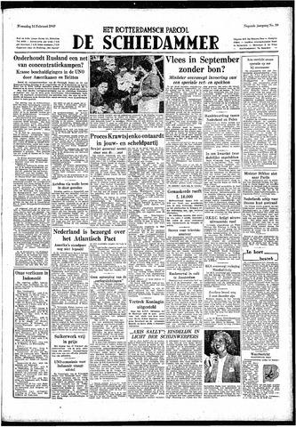 Rotterdamsch Parool / De Schiedammer 1949-02-16