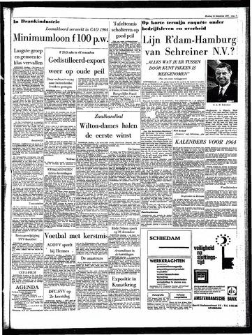 Rotterdamsch Parool / De Schiedammer 1963-12-24