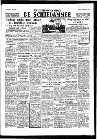 Rotterdamsch Parool / De Schiedammer 1949-04-27