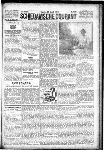 Schiedamsche Courant 1929-04-30