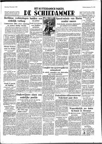Rotterdamsch Parool / De Schiedammer 1948-12-06
