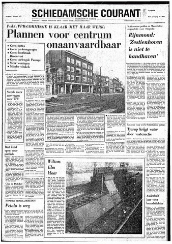 Rotterdamsch Nieuwsblad / Schiedamsche Courant / Rotterdams Dagblad / Waterweg / Algemeen Dagblad 1974-02-01