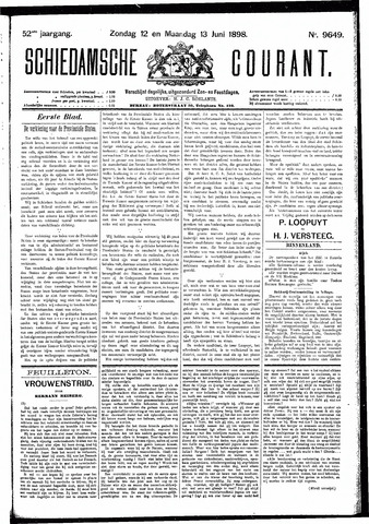 Schiedamsche Courant 1898-06-13