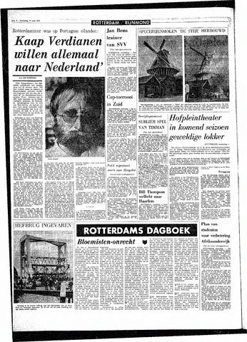Rotterdamsch Parool / De Schiedammer 1970-05-27
