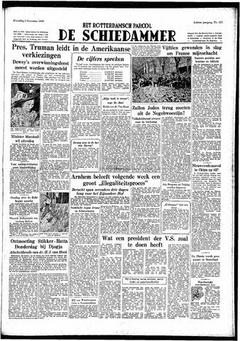 Rotterdamsch Parool / De Schiedammer 1948-11-03