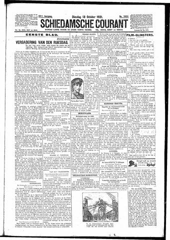 Schiedamsche Courant 1931-10-13