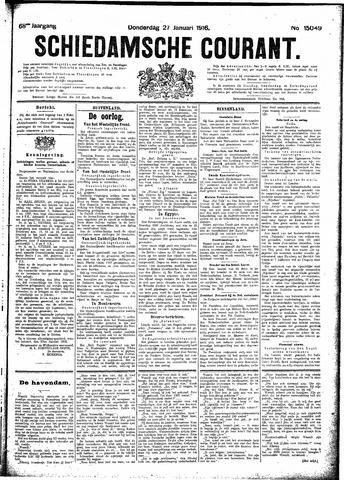 Schiedamsche Courant 1916-01-27
