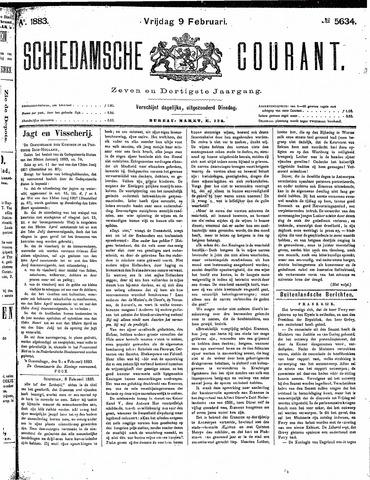 Schiedamsche Courant 1883-02-09