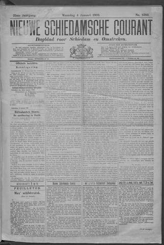 Nieuwe Schiedamsche Courant 1909-01-04