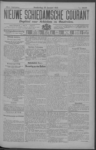 Nieuwe Schiedamsche Courant 1913-01-23