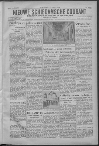 Nieuwe Schiedamsche Courant 1946-10-09