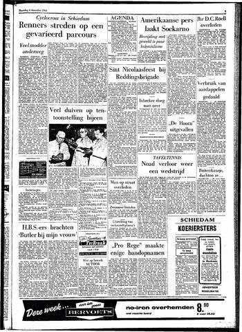 Rotterdamsch Parool / De Schiedammer 1961-12-04
