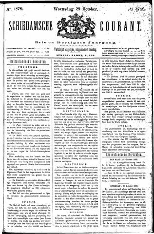 Schiedamsche Courant 1879-10-29