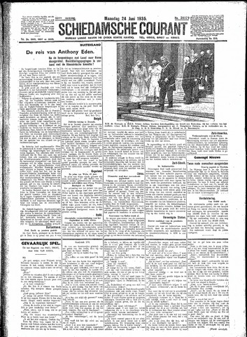 Schiedamsche Courant 1935-06-24