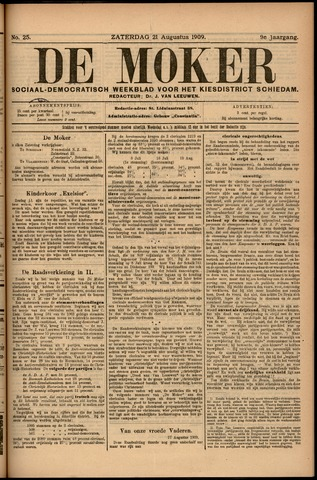 De Moker 1909-08-21