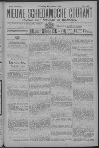 Nieuwe Schiedamsche Courant 1918-10-19