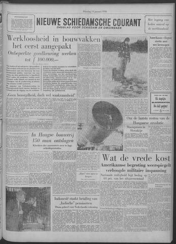 Nieuwe Schiedamsche Courant 1958-01-14