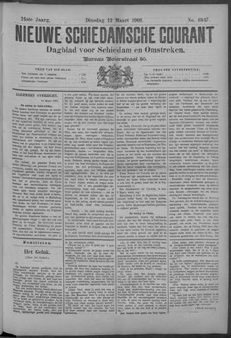 Nieuwe Schiedamsche Courant 1901-03-12