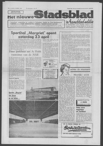 Het Nieuwe Stadsblad 1966-04-13