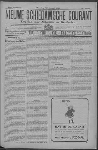 Nieuwe Schiedamsche Courant 1913-01-20