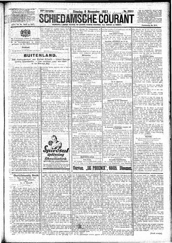 Schiedamsche Courant 1927-11-08
