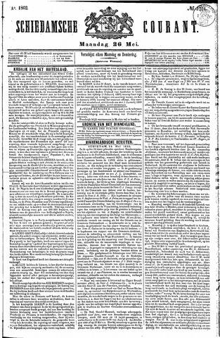 Schiedamsche Courant 1862-05-26