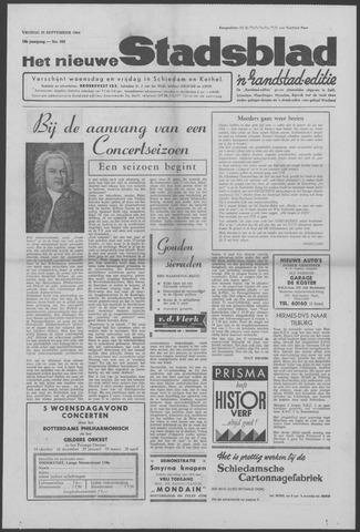 Het Nieuwe Stadsblad 1964-09-25