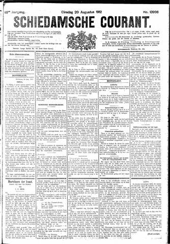 Schiedamsche Courant 1912-08-20