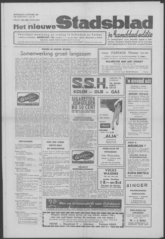 Het Nieuwe Stadsblad 1961-10-04