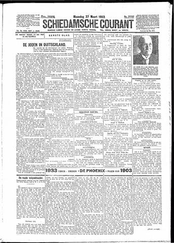 Schiedamsche Courant 1933-03-27