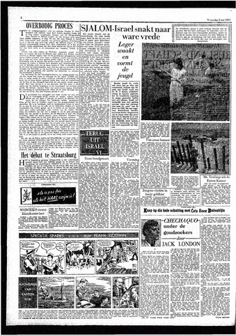 Rotterdamsch Parool / De Schiedammer 1957-05-08