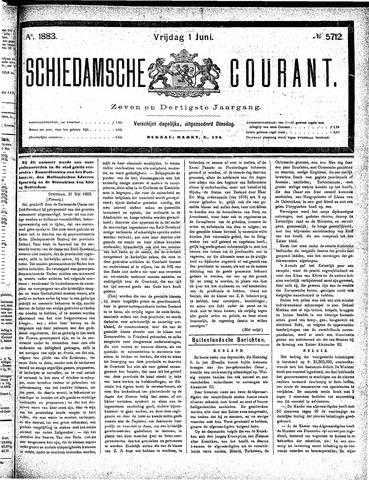 Schiedamsche Courant 1883-06-01