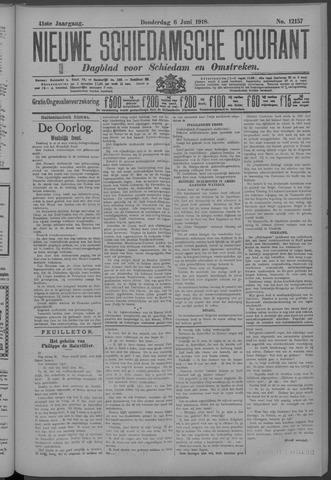 Nieuwe Schiedamsche Courant 1918-06-06