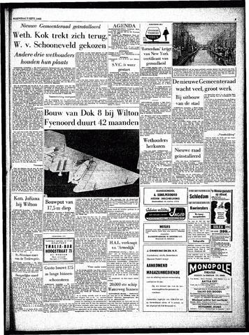 Rotterdamsch Parool / De Schiedammer 1962-09-05